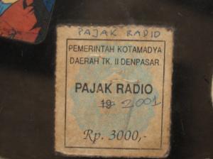 Peneng pajak radio