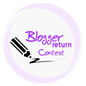 Blogger return contest