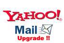 Yahoo upgrade